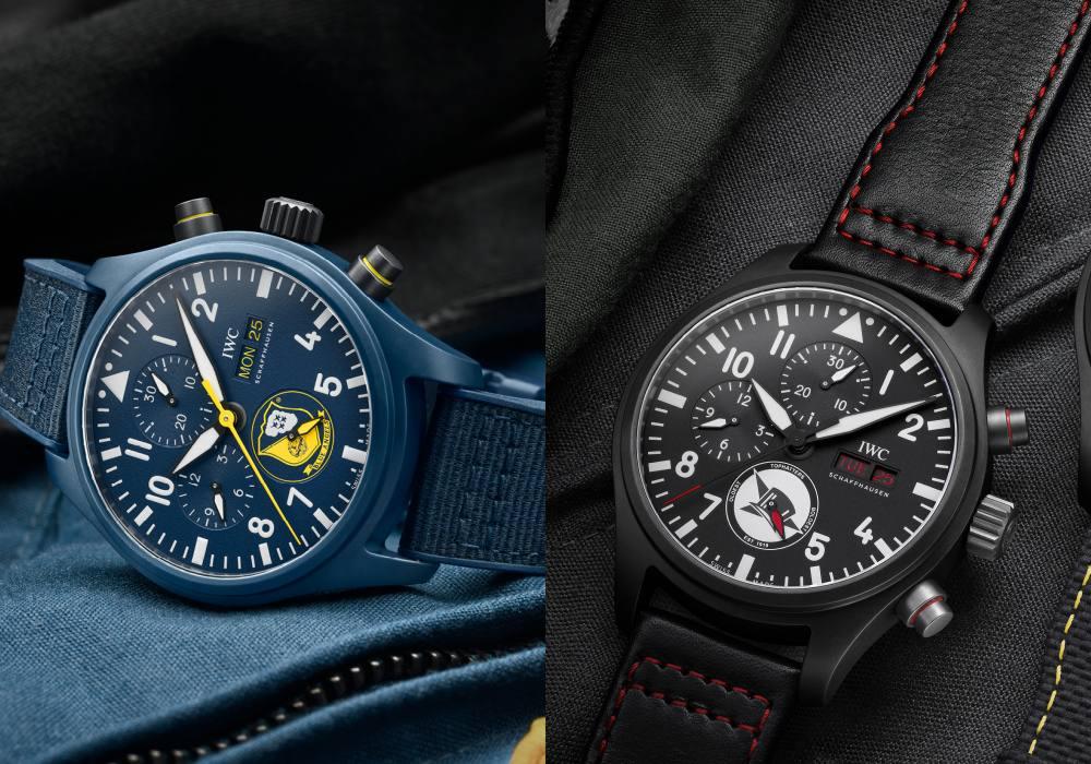 iwc schaffhausen cover 1 - IWC SCHAFFHAUSEN 飞行员系列再添 3款全新陶瓷材质计时腕表!