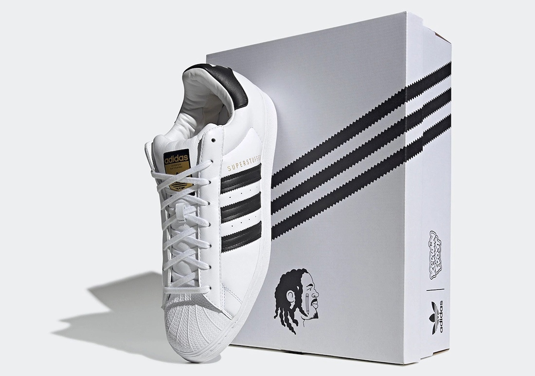 "kerwin frost adidas superstar superstuffed shoesbox - Kerwin Frost x Adidas 推出极有创意的 ""SUPERSTUFFED ""小丑鞋!"