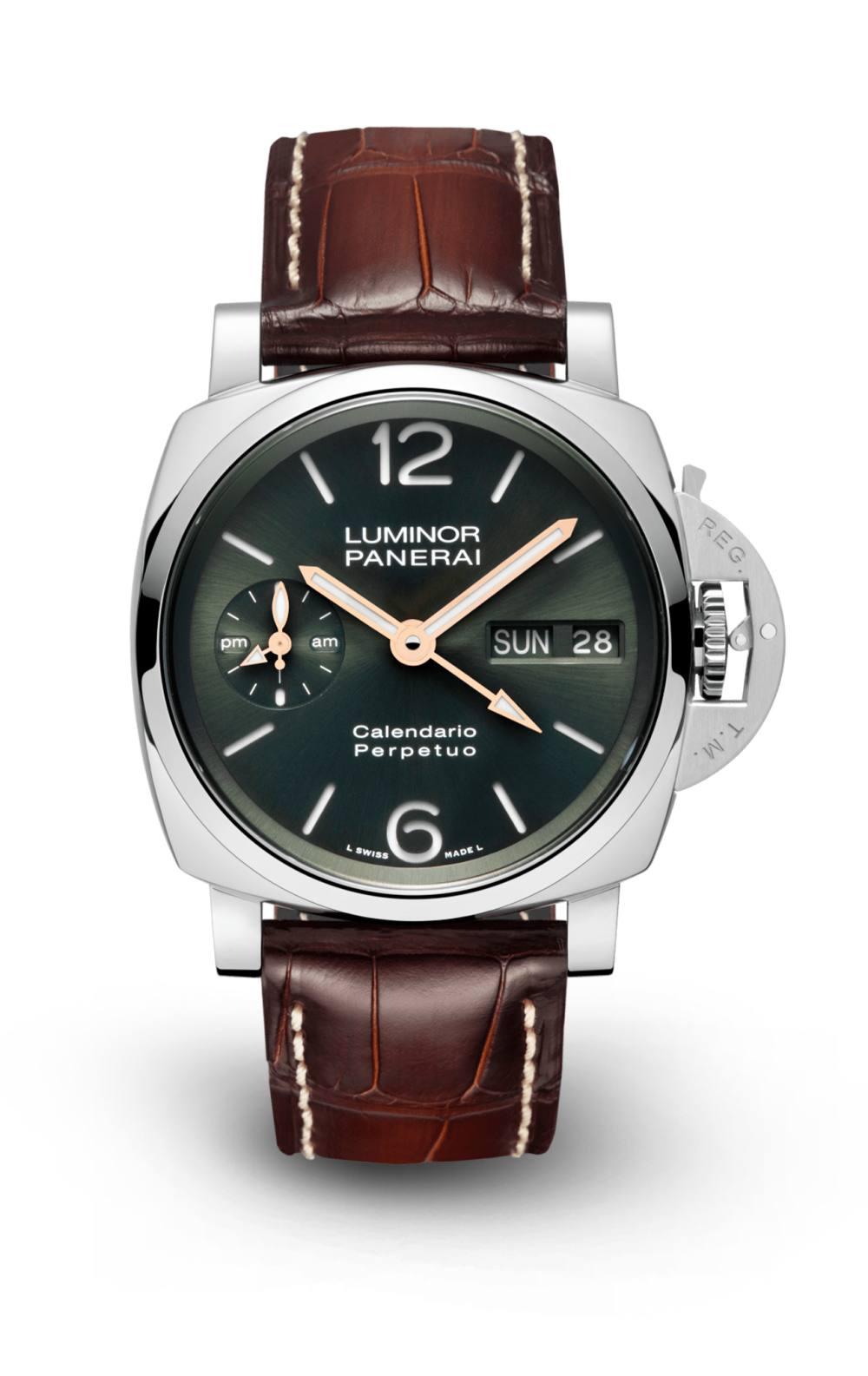 luminor perpetual calendar platinumtech - Panerai 全新万年历腕表,实现了腕表新程度的复杂功能性