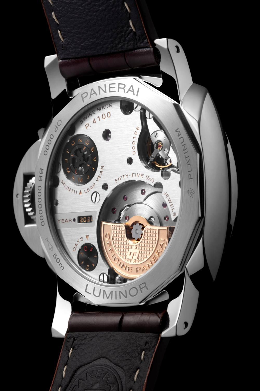 pam715 cat dett03 c - Panerai 全新万年历腕表,实现了腕表新程度的复杂功能性