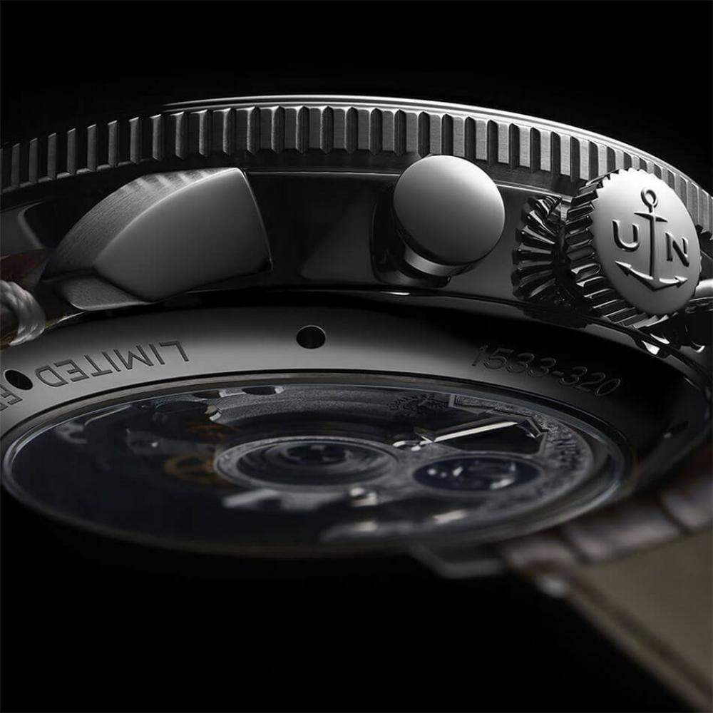 ulysse nardin the marine torpilleur annual chronograph 44mm un 153 back - 一览 Geneva Watch Days 2021 最受瞩目的6款腕表