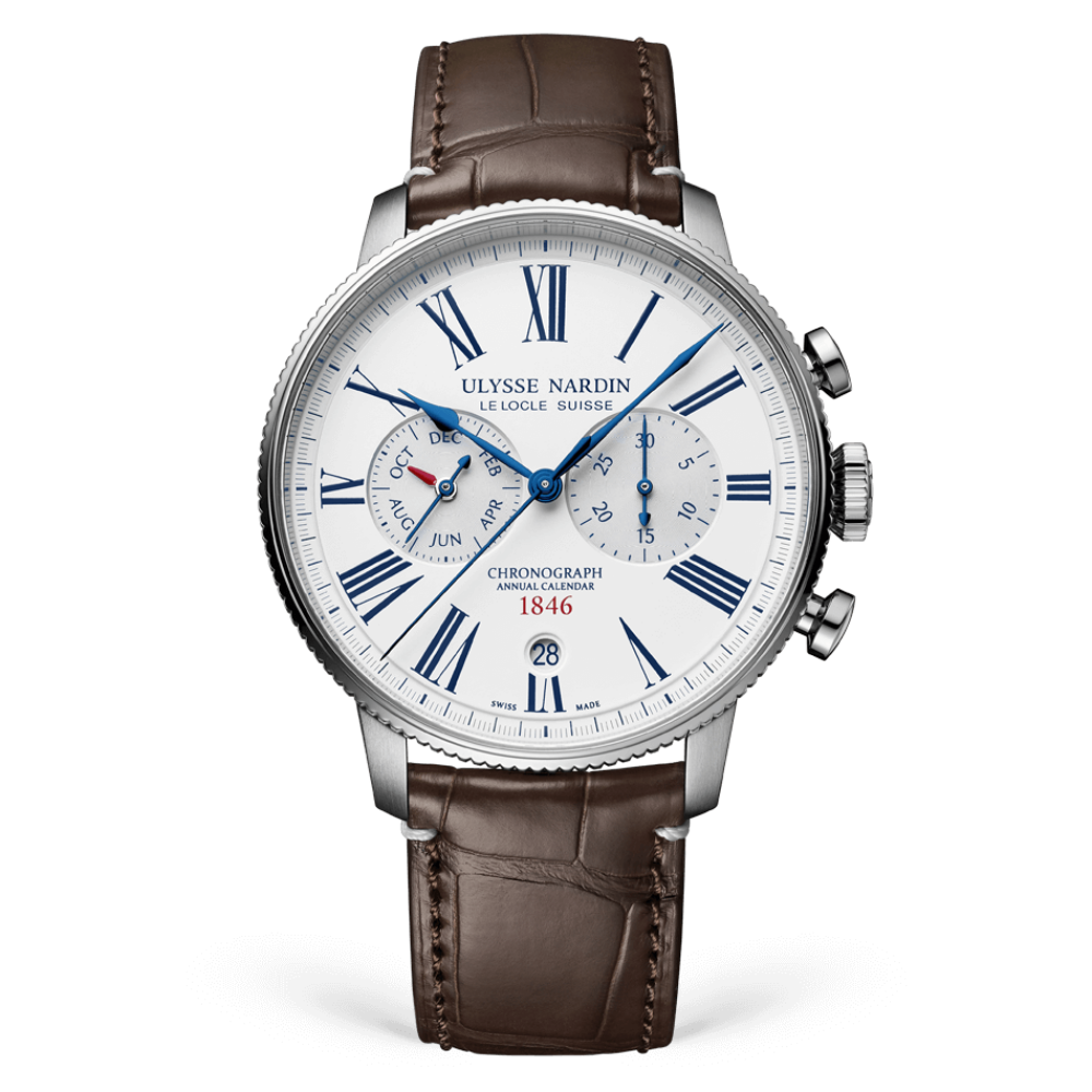 ulysse nardin the marine torpilleur annual chronograph 44mm un 153 full - 一览 Geneva Watch Days 2021 最受瞩目的6款腕表