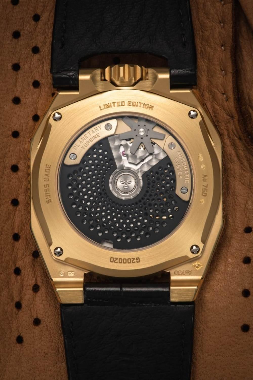 urwerk ur 100 electrum lifestlye - 一览 Geneva Watch Days 2021 最受瞩目的6款腕表