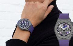 Zenith DEFY 21 Ultraviolet 001 240x150 - 绚丽紫色点缀超凡机芯: Zenith DEFY 21 Ultraviolet